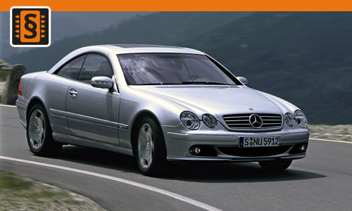 Chiptuning Mercedes-Benz  CL-Class (C215) (1999 - 2006)