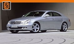 Chiptuning Mercedes-Benz  CLS (W219) (2004 - 2010)
