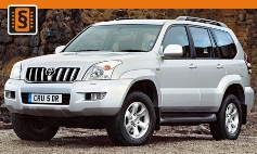 Chiptuning Toyota  Land Cruiser Prado J120