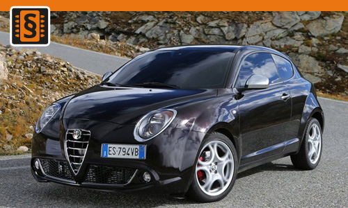 chiptuning alfa romeo mito 1 4 58kw 79hp chiptuning. Black Bedroom Furniture Sets. Home Design Ideas