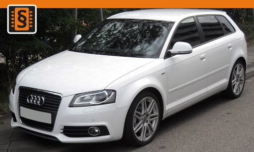 Chiptuning Audi A3 2.0 TFSI 147kw (200hp)