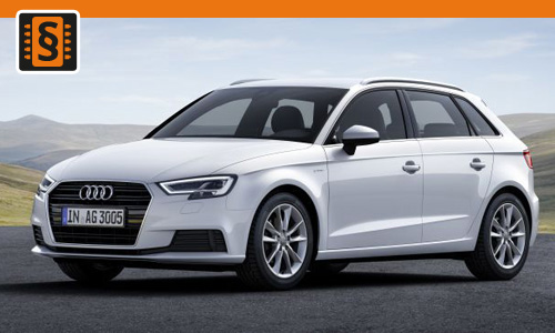 Chiptuning Audi A3 1.6 TDI 81kw (110hp)