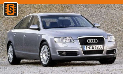 Chiptuning Audi A6 2.8 FSI 154kw (210hp)
