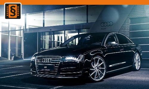 Chiptuning Audi A8 4.0 TFSI 309kw (420hp)