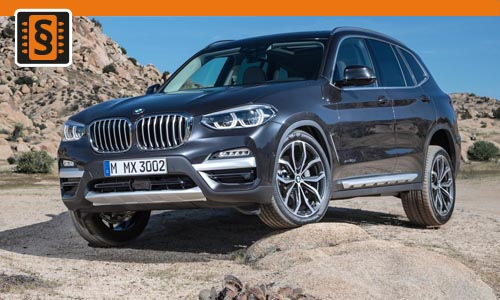 Chiptuning BMW X3 30i 185kw (252hp)