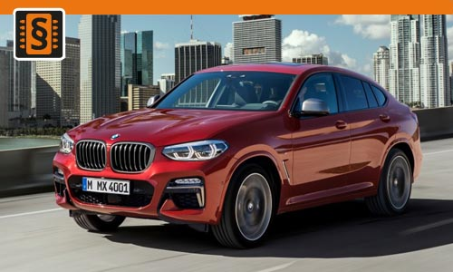 Chiptuning BMW X4 M40d 240kw (326hp)