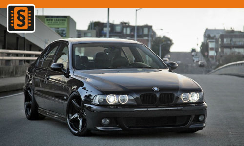 Chiptuning BMW 523i 125kw (170hp)