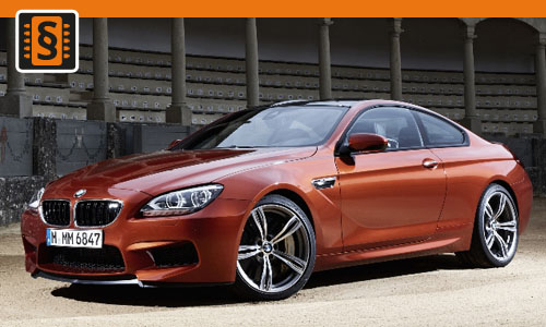 Chiptuning BMW 640d  230kw (313hp)