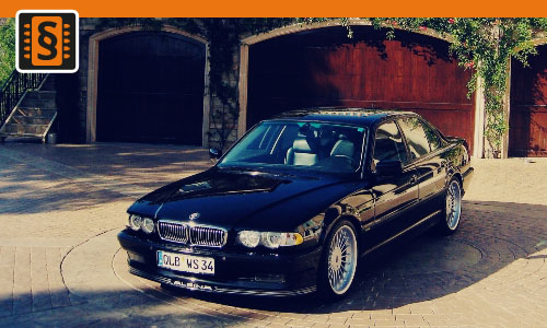Chiptuning BMW 740i 210kw (286hp)