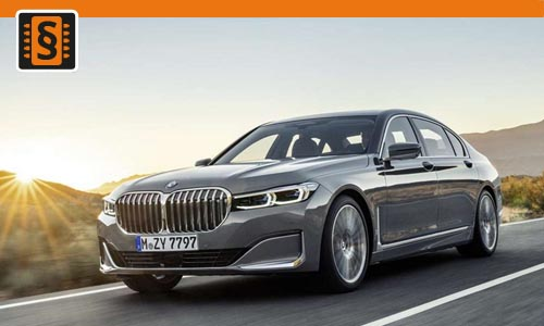 Chiptuning BMW 7 50i  331kw (450hp)