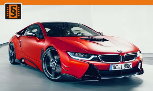 Chiptuning BMW i8 1.5T  170kw (231hp)