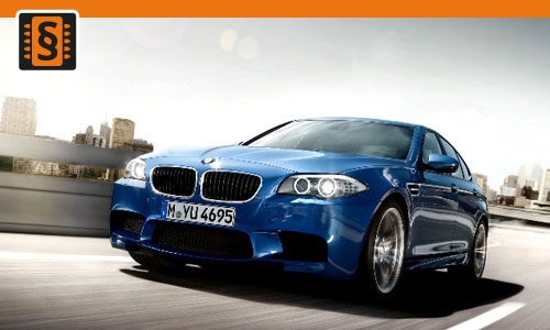 Chiptuning BMW M5 M5 F10 V8 Bi-Turbo 412kw (560hp)