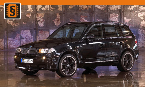 Chiptuning BMW X3 2.5i 141kw (192hp)
