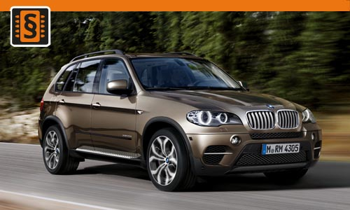 Chiptuning BMW X5 xDrive 35i 225kw (306hp)