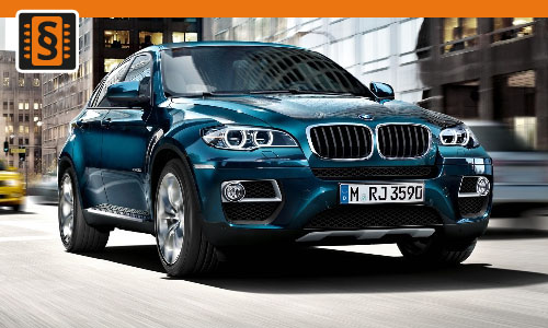 Chiptuning BMW X6 xDrive 30d 180kw (245hp)