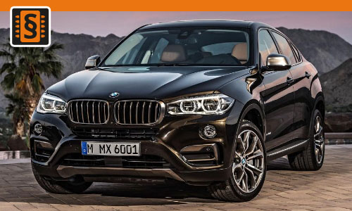 Chiptuning BMW X6 30d  190kw (258hp)