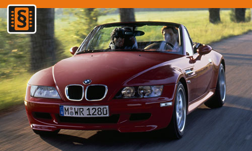 Chiptuning BMW Z3 2.2 125kw (170hp)
