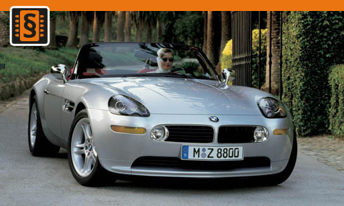 Chiptuning BMW Z8-series 5.0 294kw (400hp)