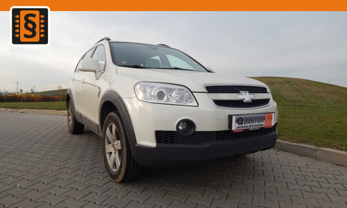 Chiptuning Chevrolet Captiva 2.2 VCDI 120kw (163hp)