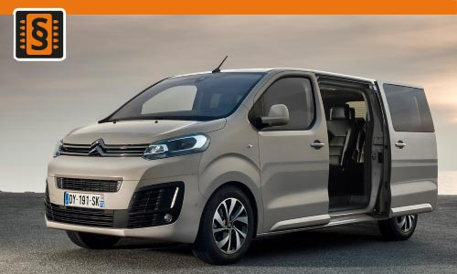 Chiptuning Citroen SpaceTourer 1.5 BlueHDI 88kw (120hp)