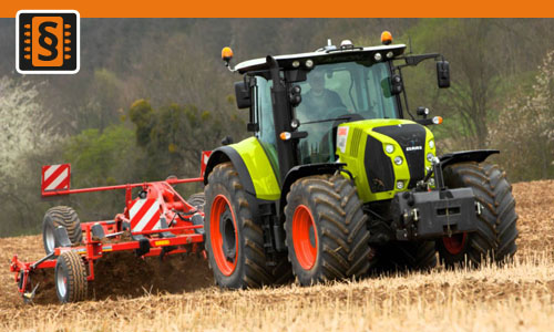 Chiptuning Claas Arion 410 4.5L  70kw (95hp)