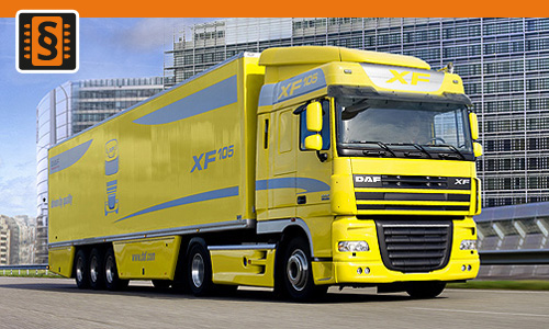 Chiptuning DAF XF105 MX340 12.9L  338kw (460hp)