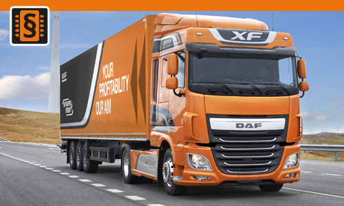 Chiptuning DAF XF Euro6 MX13  375kw (510hp)