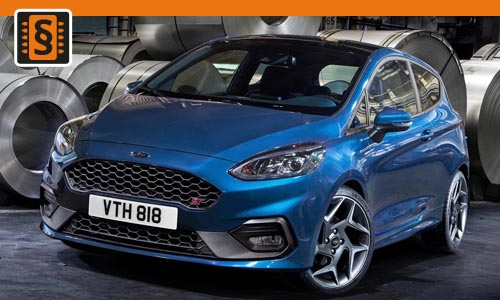 Chiptuning Ford Fiesta 1.0T Ecoboost 92kw (125hp)