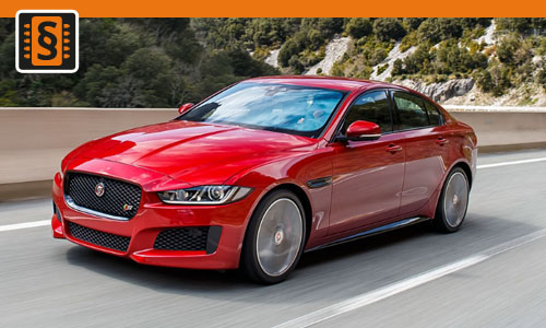 Chiptuning Jaguar XE 2.0 D 120kw (163hp)