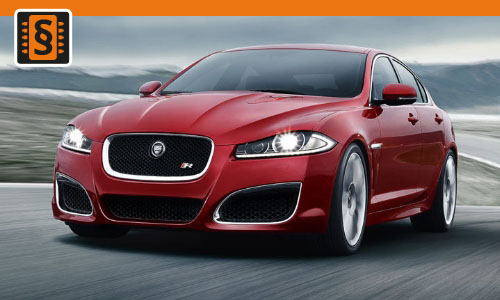 Chiptuning Jaguar XF 2.7D  152kw (207hp)