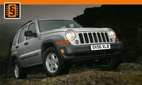 Chiptuning Jeep Cherokee Liberty 2.5 CRD 105kw (143hp)