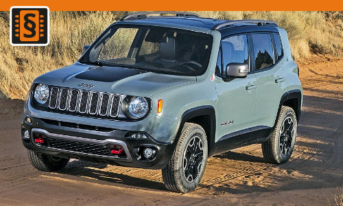 Chiptuning Jeep Renegade 1.6 MJET 88kw (120hp)