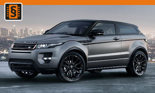 Chiptuning Range Rover Evoque 2.2 SD4 140kw (190hp)