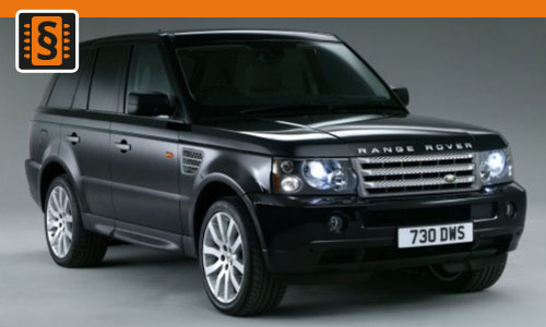 Chiptuning Range Rover 4.2 V8 Supercharged 291kw (396hp)