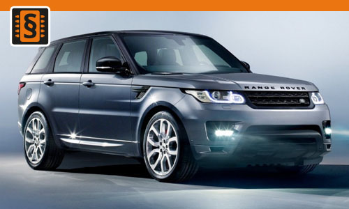 Chiptuning Range Rover 3.0 V6 Supercharged 250kw (340hp)