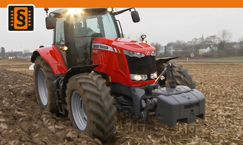 Chiptuning Massey Ferguson 7000 Series 7465 CR  92kw (125hp)