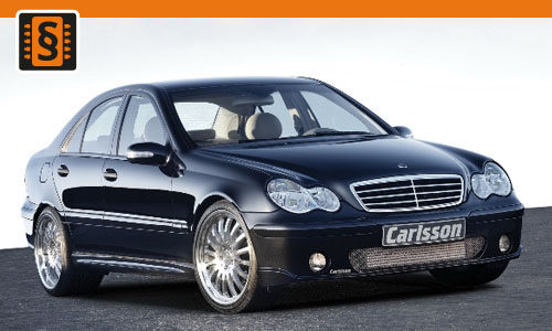 Chiptuning Mercedes C-Class 200 CDI 100kw (136hp)