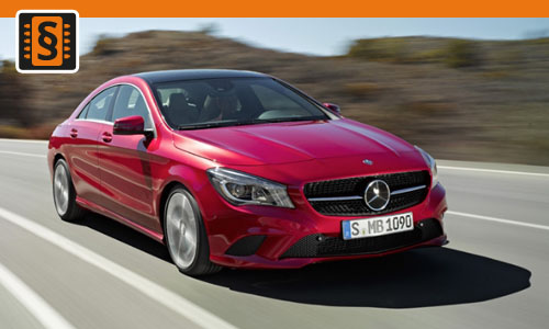 Chiptuning Mercedes CLA 200  115kw (156hp)