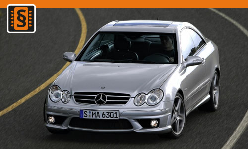 Chiptuning Mercedes-Benz CLK 63 AMG 354kw (481hp)