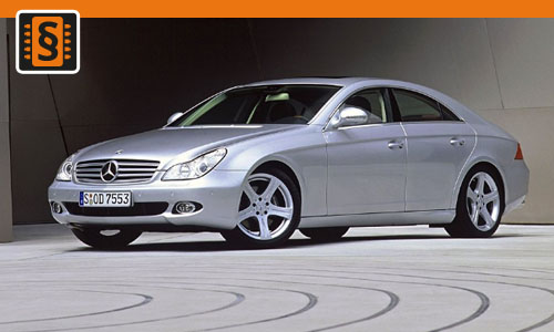 Chiptuning Mercedes-Benz CLS 320 CDI 165kw (224hp)