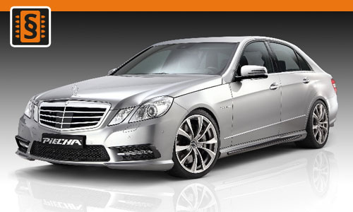 Chiptuning Mercedes-Benz E-Class 500 4.7T  300kw (408hp)