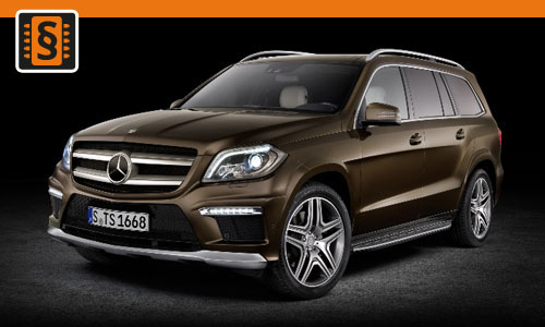 Chiptuning Mercedes-Benz GL 63 AMG 410kw (557hp)
