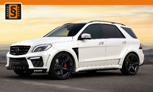 Chiptuning Mercedes-Benz ML 63 AMG 386kw (525hp)