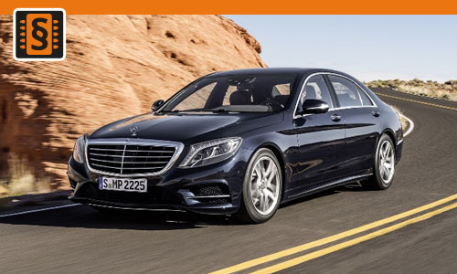 Chiptuning Mercedes S-Class 350 CDI 190kw (258hp)