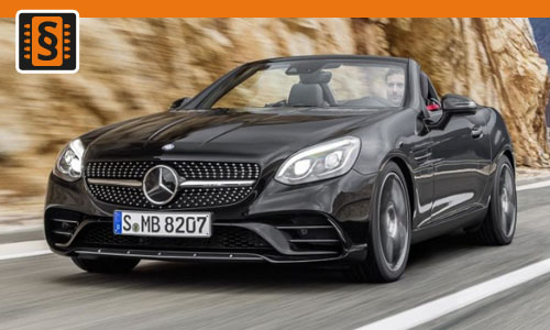 Chiptuning Mercedes SLC 43 AMG (3.0T) 287kw (390hp)