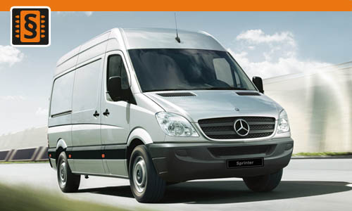 Chiptuning Mercedes Sprinter 215 CDI 110kw (150hp)