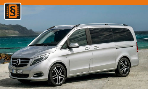 Chiptuning Mercedes V-Class 250 CDI 140kw (190hp)