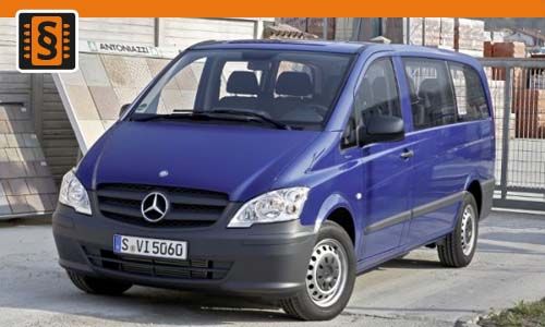 Chiptuning Mercedes Vito II 110 CDI 75kw (102hp)