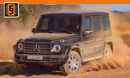 Chiptuning Mercedes G-Class 63 AMG 430kw (585hp)