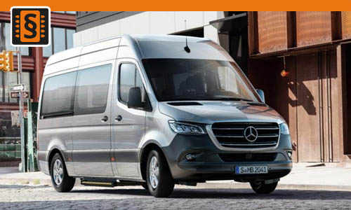 Chiptuning Mercedes Sprinter x11 2.1 CDI 84kw (114hp)